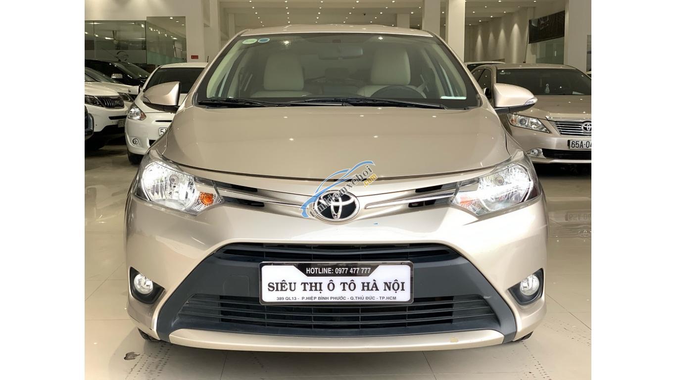 HCM: Toyota Vios 1.5 AT 2018, trả trước chỉ từ 148 triệu