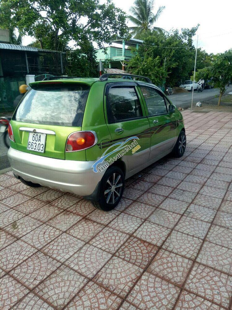 Bán Daewoo Matiz SE sản xuất năm 2007, màu xanh lục, nhập khẩu