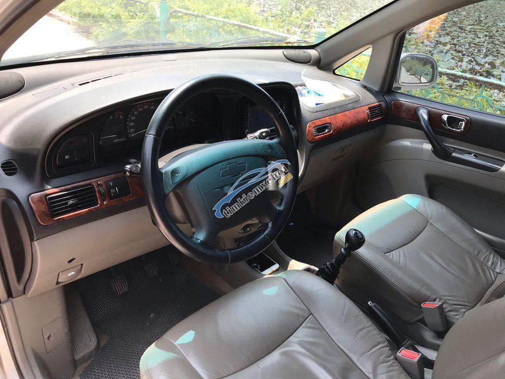 Bán Chevrolet Vivant CDX đời 2009, màu bạc như mới