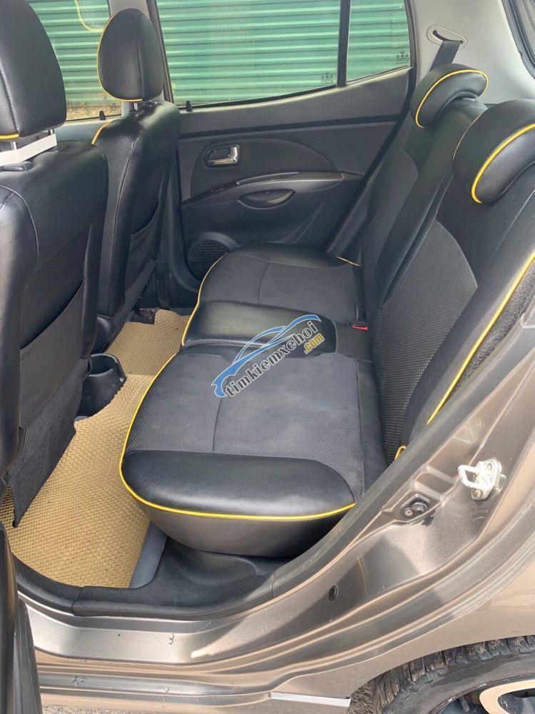 Bán Kia Morning AT SLX sản xuất 2010, màu xám, nhập khẩu nguyên chiếc