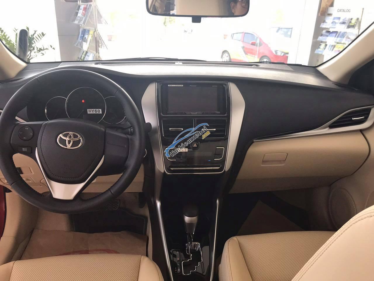 Giá xe Vios 1.5 số tự động tốt nhất tại Nghệ An, đủ màu, giao ngay chỉ 120 triệu, LH 0931 399 886