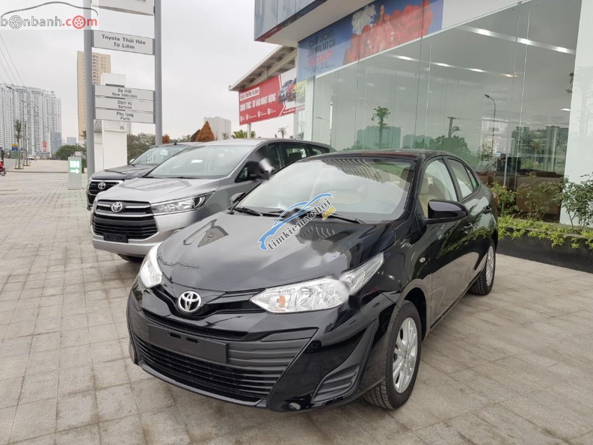 Bán xe Toyota Vios 1.5E MT sản xuất năm 2019, màu đen