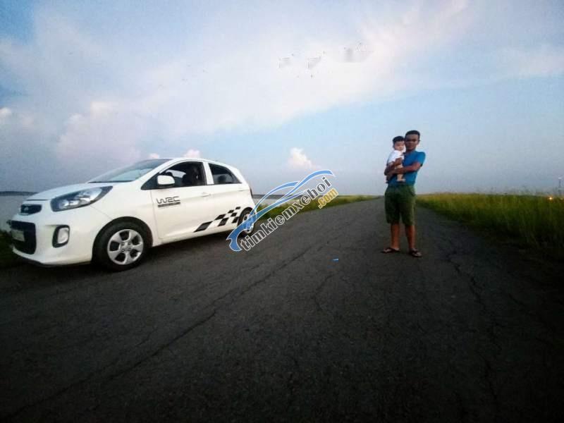 Bán Kia Morning sản xuất 2016, màu trắng, xe đẹp