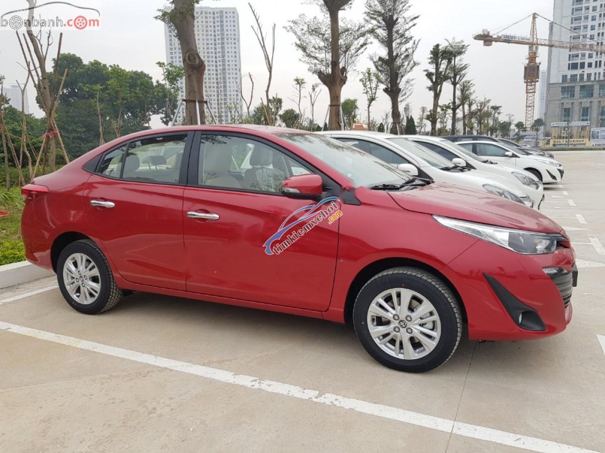 Cần bán Toyota Vios 1.5G sản xuất năm 2019, màu đỏ, 540 triệu