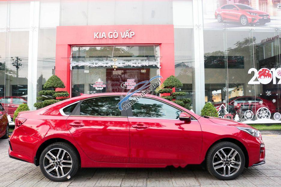 Bán ô tô Kia Cerato Deluxe sản xuất năm 2019, màu đỏ giá cạnh tranh