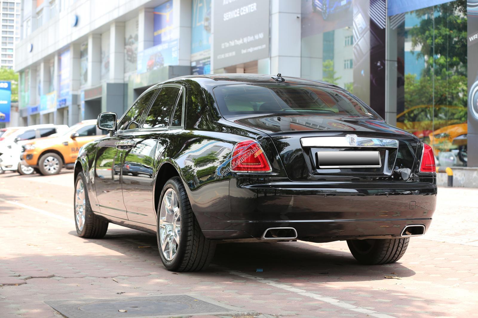 Bán Rolls-Royce Ghost Series I đời 2011, màu đen, xe nhập