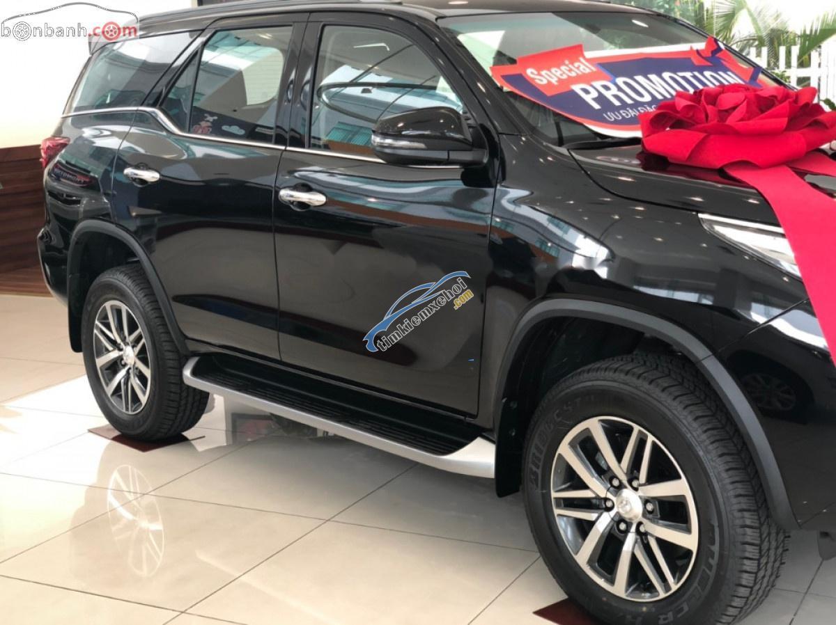 Bán ô tô Toyota Fortuner 2.8V 4x4 AT đời 2019, màu đen