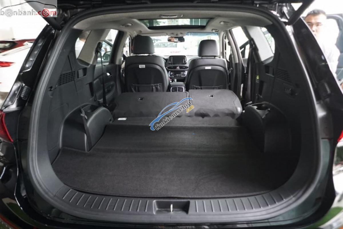 Bán Hyundai Santa Fe 2.2L HTRAC đời 2019, màu trắng