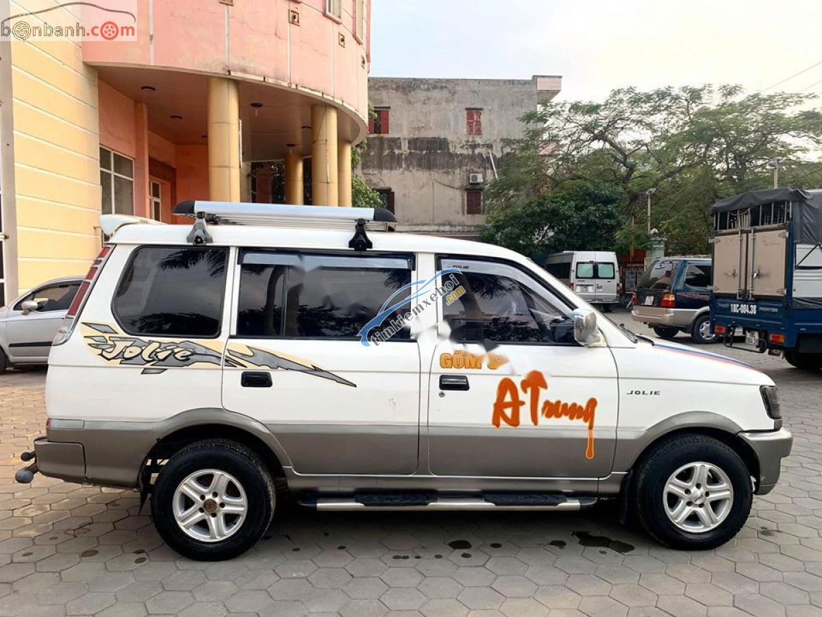 Cần bán gấp Mitsubishi Jolie đời 2003, màu trắng