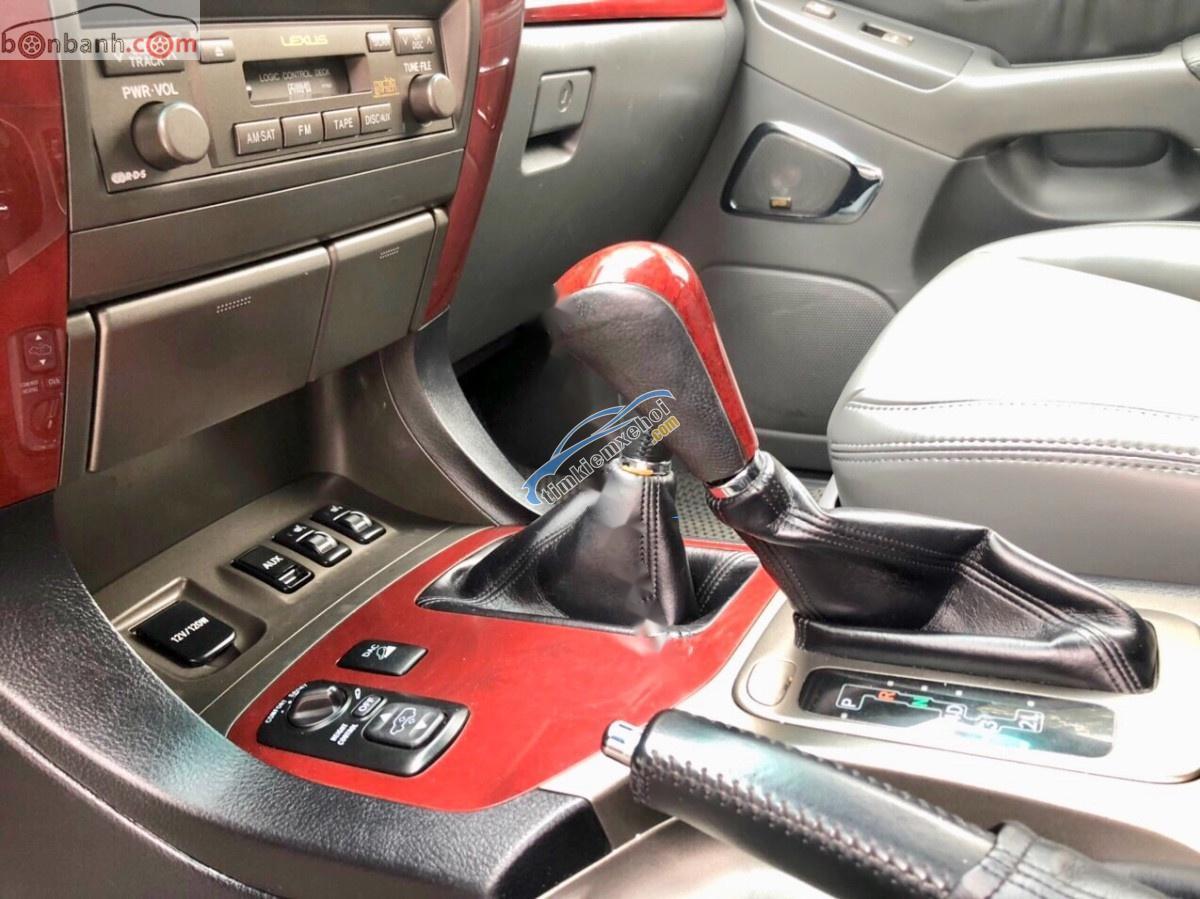 Bán Lexus GX 470 năm sản xuất 2008, màu bạc, nhập khẩu