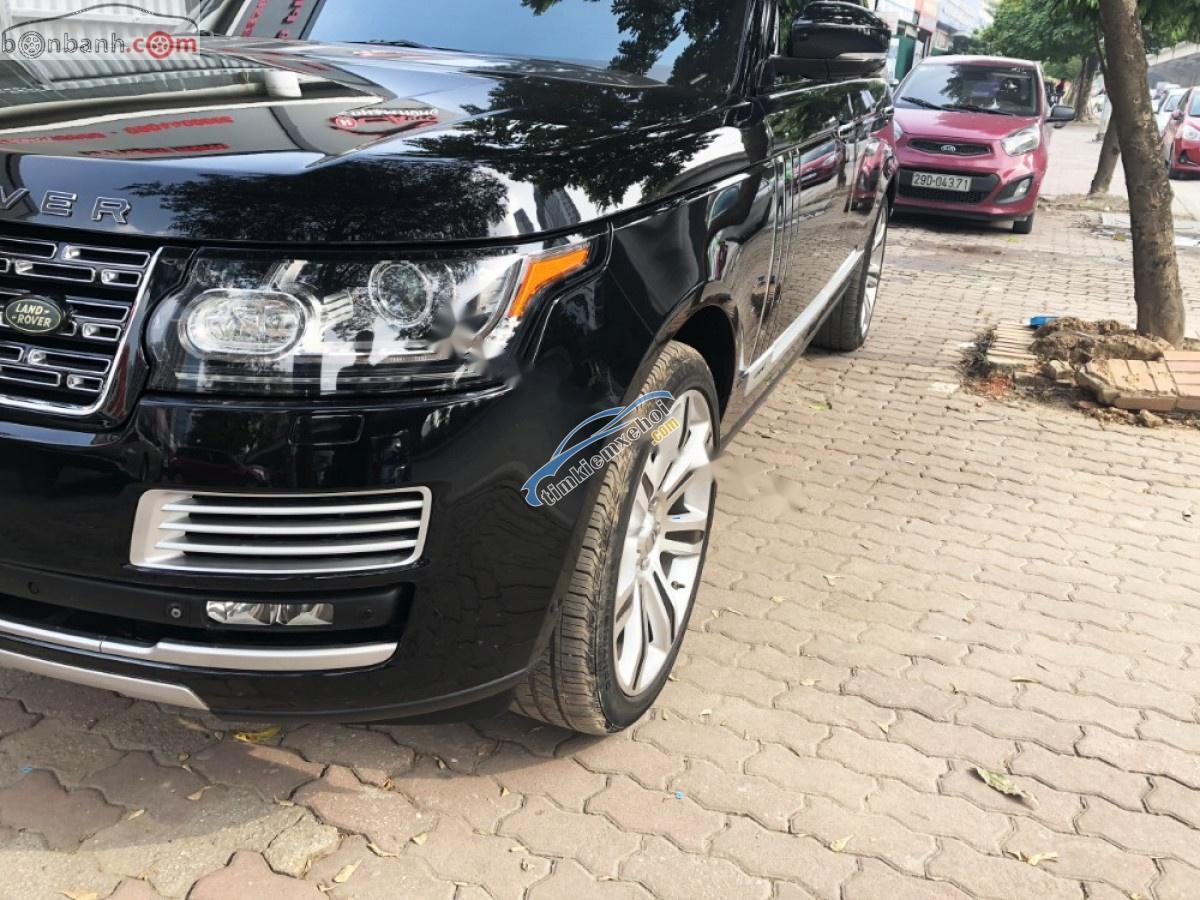 Bán xe cũ LandRover Range Rover Autobiography LWB 5.0 năm 2014, màu đen, xe nhập