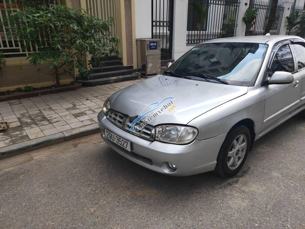 Bán ô tô Kia Spectra sản xuất 2005, màu bạc còn mới