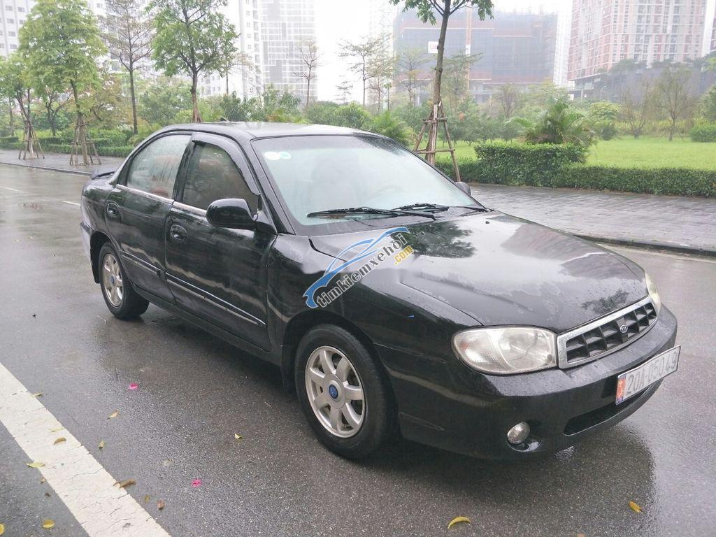 Cần bán xe Kia Spectra sản xuất năm 2007, màu đen, nhập khẩu