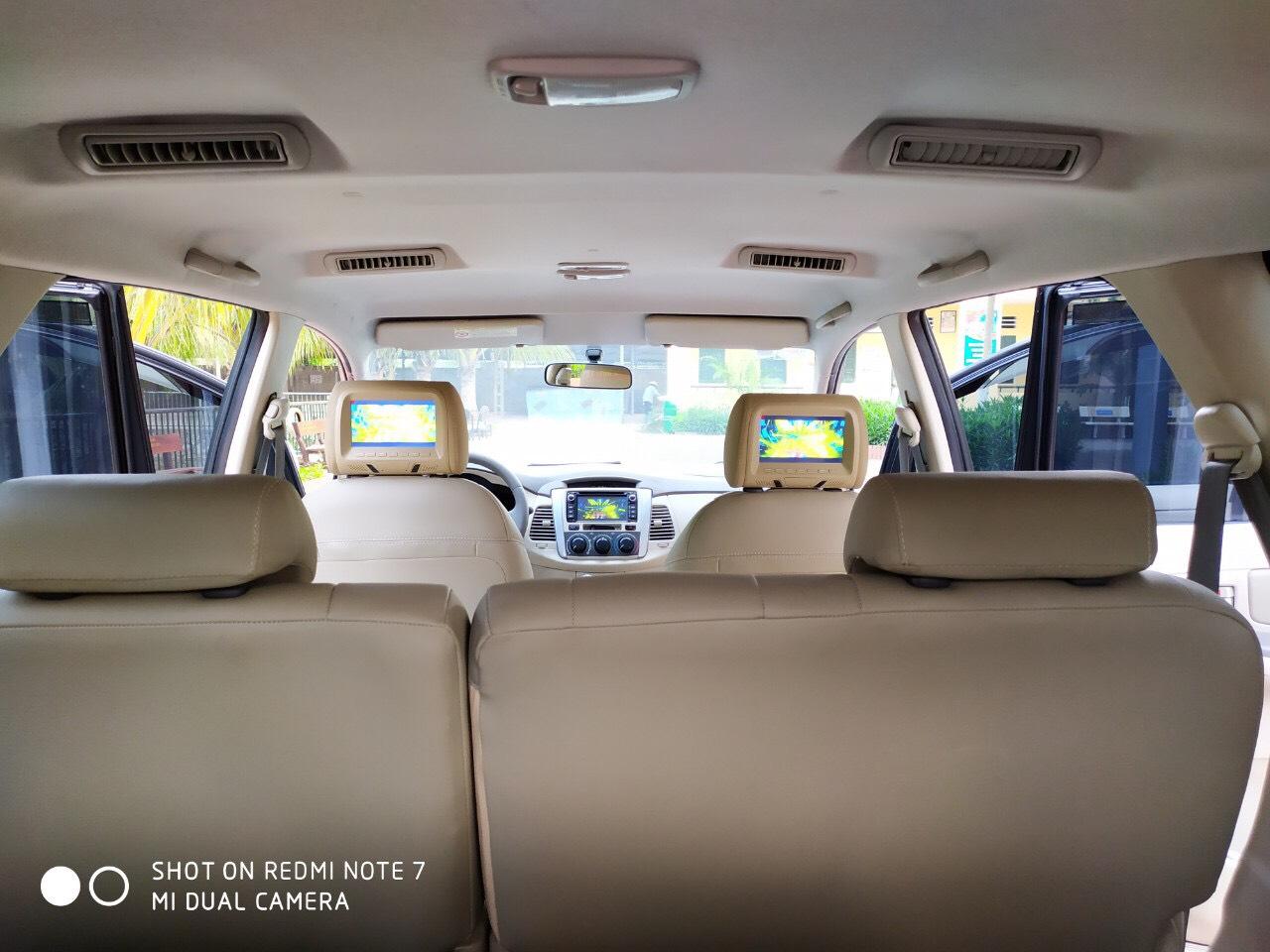 Bán Toyota Innova 2.0E đời 2014, màu vàng, giá 398tr