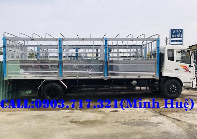 Bán xe tải DongFeng 9 tấn thùng dài 7m5 nhập 2019 | Xe Dongfeng 9 tấn ISB180