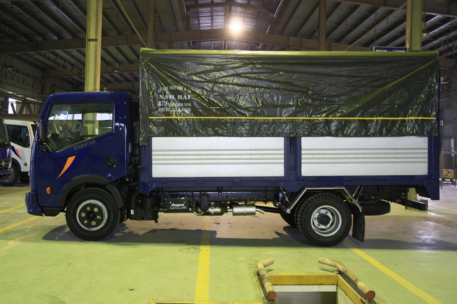 Xe tải Nissan 3.5 tấn thùng dài 4m3, giá xe tải 3t5 tại Bình Dương