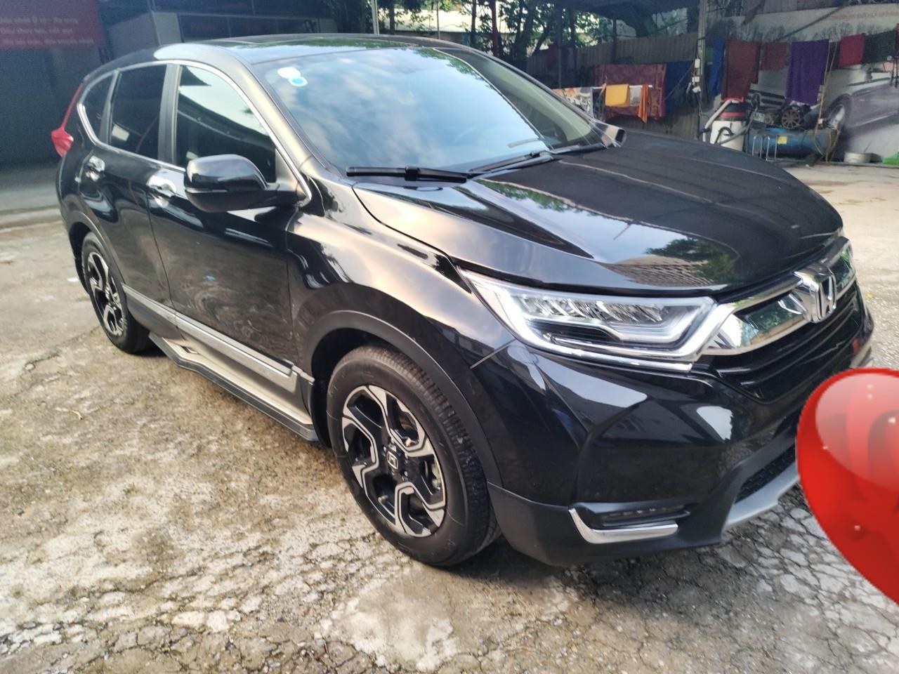Bán xe Honda CR V 2018, màu đen, nhập khẩu Thái giá cạnh tranh