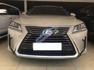 Bán Lexus RX350, vàng cát, nội thất nâu, xe sản xuất 2016, ĐK 2016 tên công ty biển Hà Nội giá 3 tỷ 700 tr tại Hà Nội