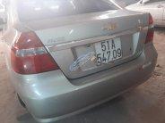 Bán xe Chevrolet Aveo 1.5 MT năm sản xuất 2013, màu bạc  giá 265 triệu tại Tp.HCM