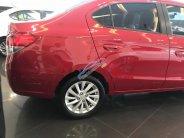 Bán Mitsubishi Attrage 1.2 CVT  2018, màu đỏ, nhập khẩu giá 460 triệu tại Nghệ An