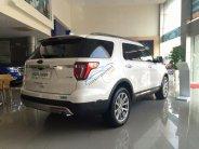 Bán Ford Explorer 2.3 Ecoboost 2018, màu trắng, nhập khẩu giá 2 tỷ 180 tr tại Hà Nội