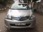 Bán Toyota Innova 2.0G đời 2011, màu bạc xe gia đình, giá chỉ 398 triệu giá 398 triệu tại Hà Nội