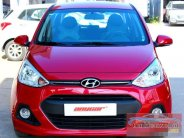Cần bán lại xe Hyundai i10 1.2AT 2015, màu đỏ, nhập khẩu nguyên chiếc, số tự động, 462tr giá 462 triệu tại Hà Nội
