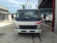Xe tải Canter HD thùng lửng gắn cẩu giá tốt liên hệ giá 650 triệu tại Tp.HCM