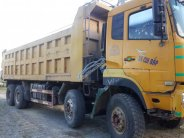 Bán xe Dongfeng 4 chân đời 2010, thùng cao 1m6 nguyên bản, màu vàng giá 540 triệu tại Hà Tĩnh