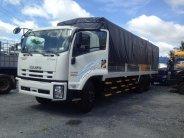 Xe tải Isuzu 3 chân, 16 tấn thùng kín thùng, mui bạt, giao xe toàn quốc giá 1 tỷ 380 tr tại Tp.HCM