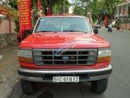 Bán Ford F 250 sản xuất 1997, màu đỏ, nhập khẩu giá 100 triệu tại Bình Dương