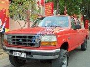 Cần bán Ford F-250 MT đời 1997, màu đỏ, nhập khẩu số sàn, xe cũ giá 100 triệu tại Bình Dương