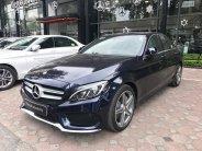 Cần bán xe Mercedes C300 AMG đời 2016, màu xanh lam giá 1 tỷ 590 tr tại Hà Nội