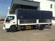 Bán xe tải thùng bạt tải trọng 4.5 tấn, xe tải Fuso Canter 8.2 tải trọng 4.5 tấn giá 610 triệu tại Tp.HCM