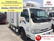 Tây Ninh, bán xe tải đông lạnh 2 tấn giá rẻ, giá xe tải thùng đông lạnh Kia 2 tấn giá 334 triệu tại Tây Ninh