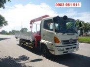 Xe tải cẩu HINO - tải 4,6 tấn - thùng dài 6,2m - cẩu Unic 3 tấn 4 khúc giá 1 tỷ tại Hà Nội