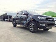 Ford Ranger - Quảng Ninh bán Wildtrak 3.2 AT 4x4 Navigator đời 2017, màu đen, hỗ trợ trả góp hơn 80% giá 925 triệu tại Quảng Ninh