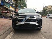 Bán ô tô Toyota Highlander LE đời 2017, màu đen, nhập khẩu giá 2 tỷ 290 tr tại Hà Nội