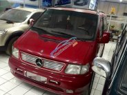 Cần bán xe Mercedes Vito Tourer đời 2000, màu đỏ, nhập khẩu chính hãng chính chủ giá cạnh tranh giá 158 triệu tại Hà Nội