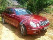 Bán Mercedes E240 đời 2004, màu đỏ  giá 420 triệu tại Lâm Đồng