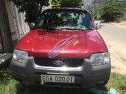 Bán Ford Escape đời 2003, màu đỏ xe gia đình giá 170 triệu tại Bình Thuận