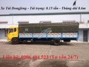 Xe tải Dongfeng 8 tấn, thùng dài 9 mét, đời mới nhất giá 790 triệu tại Bình Dương