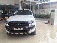Bán Ford Ranger Wildtrak 2.2 đời 2017, màu trắng, nhập khẩu nguyên chiếc giá cạnh tranh giá 836 triệu tại Hà Nội