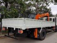 Xe tải cẩu HINO - tải 6,5t - thùng dài 6,5m - cẩu 5 tấn 4 khúc nhập khẩu Hàn Quốc giá 1 tỷ 565 tr tại Hà Nội