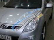 Cần bán Hyundai i20 AT đời 2011, màu bạc giá 380 triệu tại Hải Phòng