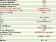 Xe Faw 7,31 tấn thùng dài 6,27m chỉ cân hơn 100 tr giá 420 triệu tại Hà Nội