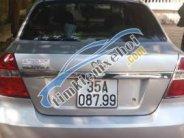 Cần bán xe Daewoo Gentra đời 2009, màu bạc chính chủ giá 220 triệu tại Ninh Bình