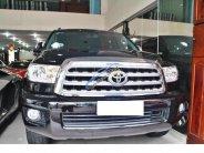 Toyota Sequoia Platinum 5.7 nhập Mỹ sản xuất 2015, đăng ký 2016, màu đen nội thất nâu da bò giá 4 tỷ 450 tr tại Hà Nội