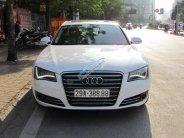 Bán Audi A8 sản xuất năm 2011, màu trắng, nhập khẩu chính chủ giá 2 tỷ 80 tr tại Hà Nội