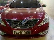 Bán Hyundai Sonata 2011, màu đỏ, nhập khẩu chính chủ giá 570 triệu tại Hải Phòng